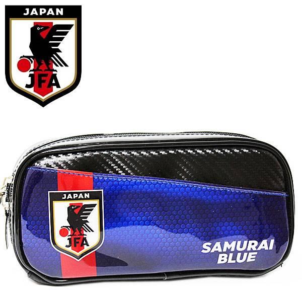 日本代表 ペンケース レッドライン メンズ レディース キッズ SAMURAI BLUE 日本サッカー協会 ステーショナリー グッズ 小物入れ 【RCP】