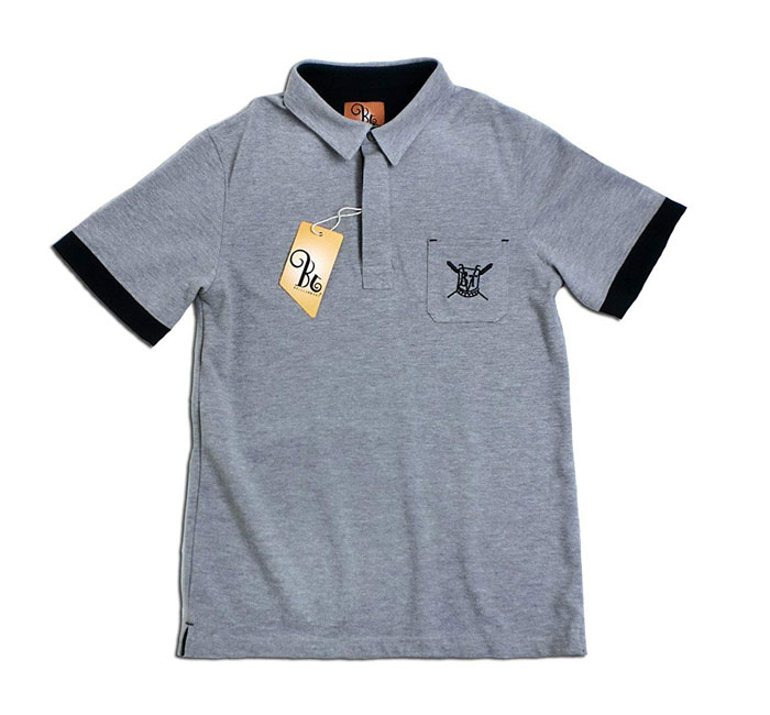 b80805a7a In the summer latest fawn polo shirt English gentleman dignity brand logo  and entering noble crest ...
