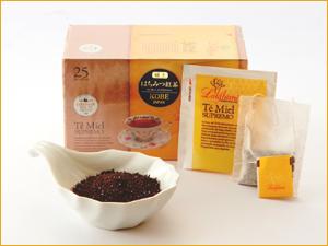 최고의 벌 꿀 차 (테 미에 르 スプレモ) 2g× 25 봉지 포장 (50g) 티 소믈리에가 개발한 고품질 벌 꿀 및 스리랑카 홍차 프리미엄 혼합 차