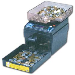 小型電動硬貨計数機 コインカウンターSCC-20