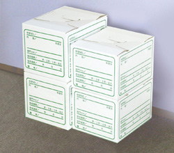 Large stock box 10 pieces (documents storage box)