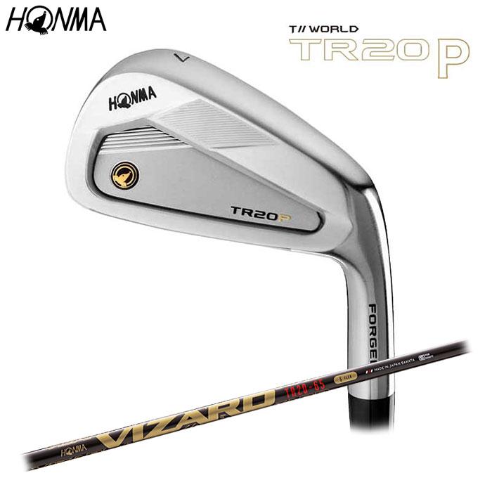 HONMA -本間ゴルフ-T//WORLD TR20 P アイアン 単品(#5) VIZARD TR20-65 シャフトホンマ TOURWORLD ツアーワールド【smtb-ms】