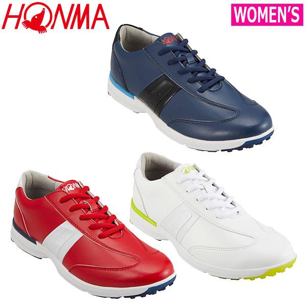 HONMA -本間ゴルフ- レディース シューズ【SR-6903】2019年 レディース パフォーマンスモデルシューズ SR6903