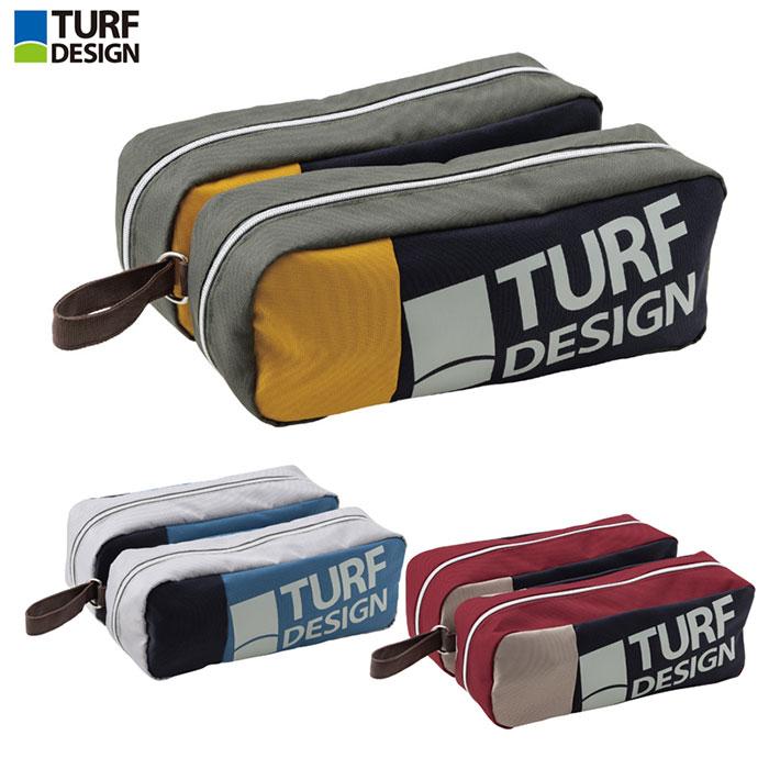 【2021年モデル】 朝日ゴルフ TURF DESIGN シューズケース【TDSC-2072】【ターフデザイン】