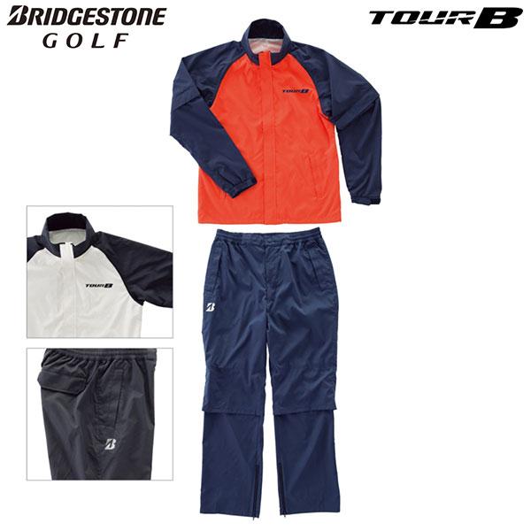 ブリヂストン -BRIDGESTONE-TOUR B レインブルゾン・レインパンツ(上下セット)【88G31】【送料無料】【smtb-ms】