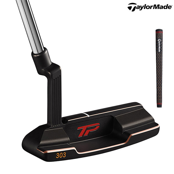 TaylorMadeTP COLLECTION BLACK COPPER JUNOLamkin Crossbone Pistol Gripテーラーメイド パター ジュノ ラムキン【smtb-ms】