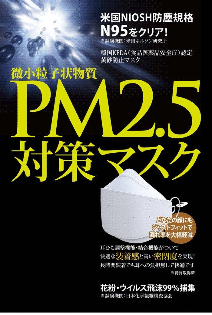 【送料無料】pm2.5対策マスク◆50枚セット◆N95クリア粉塵ウィルス予防に!