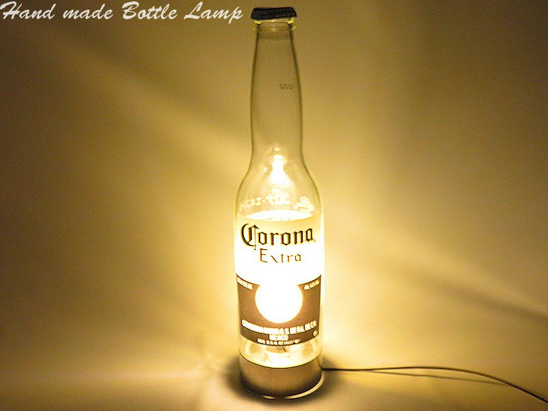 I Use It At The Outlet For The Handmade Desk Lamp Interior Family With The  LED Original Bottle Lamp Table Lamp Corona CORONA Beer Bottle