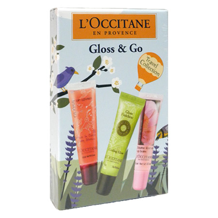 L'OCCITANE gross & goat label collection 15 ml *3