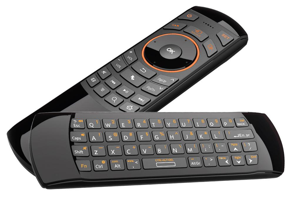 Riitek ミニワイヤレスキーボード Mini Wireless Keyboard i25A エーアマウス 語音機能付き