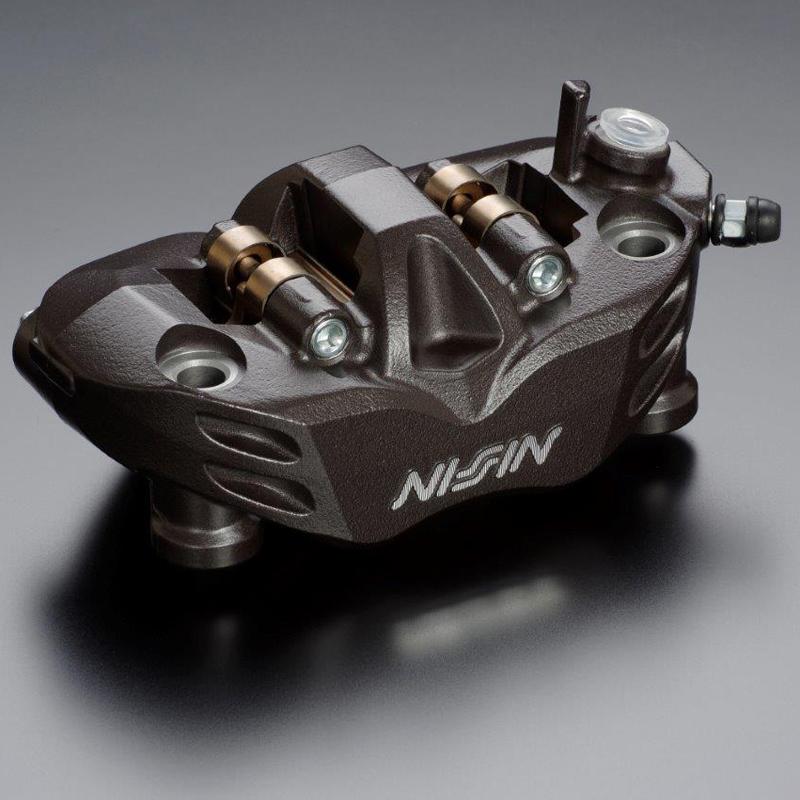 NISSIN ADVANTAGE advantage, Nissin radial fitting brake caliper 4 POT  RADIALFIT caliper ( BROWN-R) 4 PAD mounting pitch 108 dust seal with