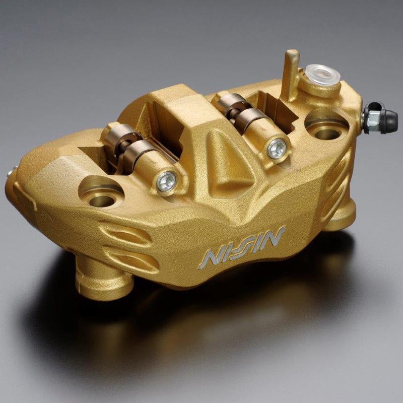 ADVANTAGE NISSIN advantage Nisshin radial fitting brakes caliper 4POT  RADIALFIT caliper (GOLD, R))   : : It is with 108 installation pace dust