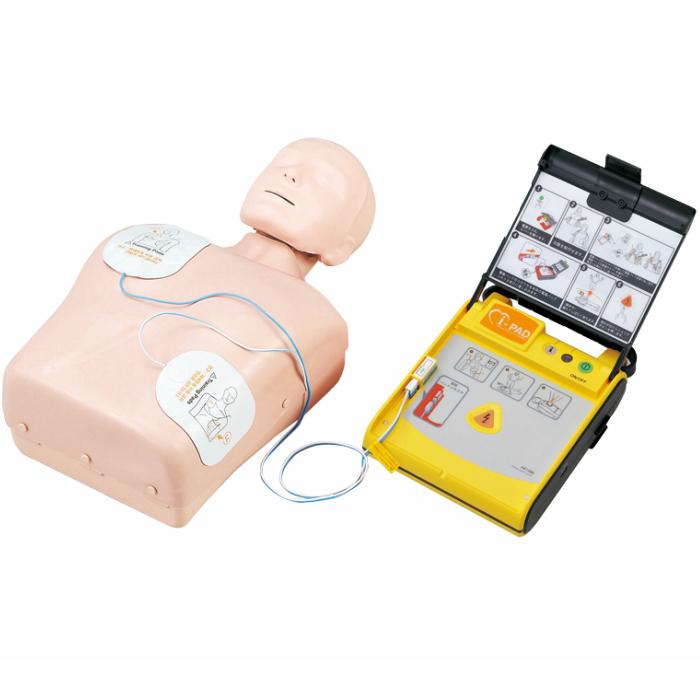 【送料無料】JAMY-P・AEDトレーナーセットiPAD NFT(52242)心肺蘇生 一次救命 訓練 心臓マッサージ 人工呼吸 AEDトレーナー トレーニング人形 CPRマネキン
