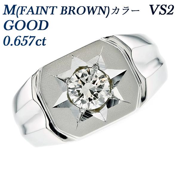 【ご注文確認後3%OFF】ダイヤモンド 印台 メンズリング 0.602ct SI2-E-VERY GOOD Pt 0.6ct 0.6カラット ダイヤメンズリング ダイアモンドメンズリング メンズ指輪 プラチナ900 ダイアメンズリング ダイヤモンドメンズ指輪 ダイアメンズ指輪 男性