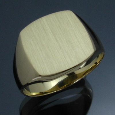 【返品送料無料】 メンズリング 三味印台(小) - 18金 K18 イエローゴールド 指輪 メンズ mens 男性 リング ring mensring, Bambi Water OnlineShop 8811e6b9