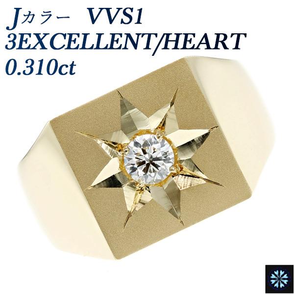【ご注文確認後3%OFF】ダイヤモンド 印台 正角 0.382ct VS1-K(FAINT BROWN)-3EXCELLENT/H&C K18 k18 18金 イエローゴールド ゴールド 0.3ct 0.3カラット 指輪 ダイヤモンド ダイア ダイアモンド ダイヤ ダイヤモンドリング リング ring diamond 印台 無地