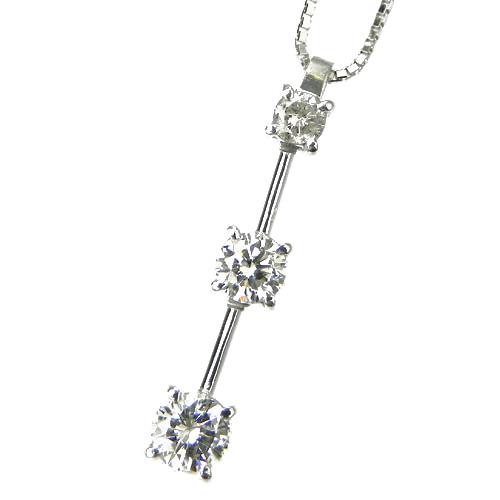 【ご注文確認後3%OFF】ダイヤモンド ネックレス ホワイトゴールド 0.5カラット ダイアモンドネックレス ダイアネックレス ダイア ダイヤモンドネックレス ダイヤモンドペンダント ダイヤモンドネックレス ソリティア