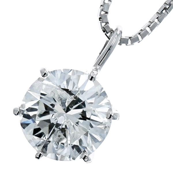 【ご注文後5%OFF】ダイヤモンド ネックレス 1.100ct I1-G-FAIR Pt ダイヤモンド ネックレス 一粒 プラチナ 1カラット ダイヤモンドネックレス ダイアモンド ダイヤネックレス ダイアネックレス ダイア ダイヤ ダイヤモンドペンダント diamond ペンダント ソリティア