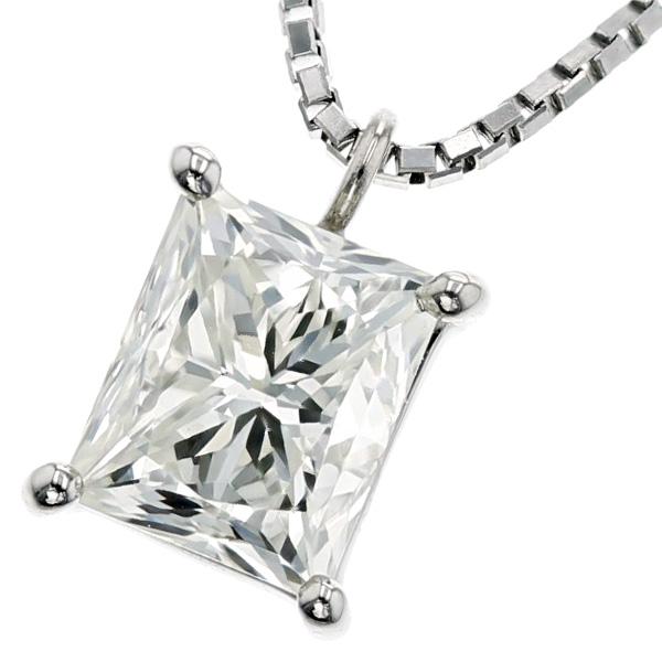 【ご注文確認後3%OFF】ダイヤモンド ネックレス 1.001ct VS1-K-プリンセスカット Pt 一粒 プラチナ Pt900 1ct 1カラット ダイヤ ペンダント ダイアモンドネックレス ダイアネックレス ダイア ダイヤモンドネックレス ダイヤモンドペンダント diamond ソリティア