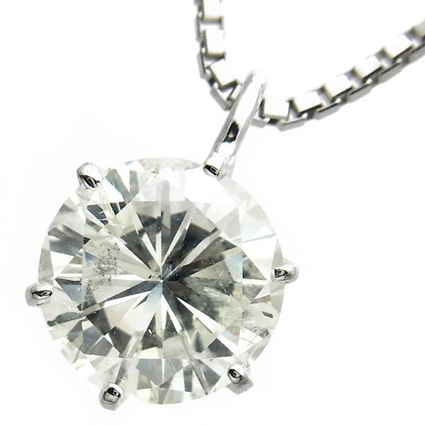 【ご注文後5%OFF】ダイヤモンド ネックレス 2.002ct I1-I-FAIR Pt ダイヤモンド ネックレス 一粒 プラチナ 2ct 2カラット ダイアモンド ダイヤネックレス ダイアネックレス ダイア ダイヤ diamond ペンダント ソリティア