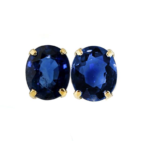 サファイア ピアス 0.70ct(Total)~ --オーバルミックスカット K18 0.7カラット 0.7ct サファイア sapphire ピアス pierce ブルー blue ロイヤルブルー 18金 k18 サファイアピアス sapphirepierce