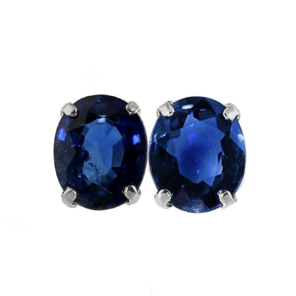 サファイア ピアス 0.70ct(Total)~ --オーバルミックスカット Pt 0.7カラット 0.7ct サファイア sapphire ピアス pierce ブルー blue ロイヤルブルー プラチナ Pt サファイアピアス sapphirepierce
