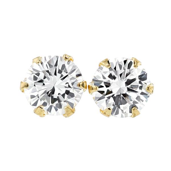 【ご注文確認後3%OFF】ダイヤモンド ピアス 0.383ct(Total) VS1-J-GOOD K18 0.3ct 0.3カラット ダイヤモンドピアス ダイヤピアス ダイヤ ダイア ダイアモンド ピヤス 18金 K18 6本爪 スタッド