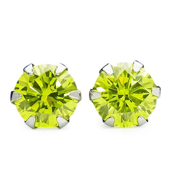 【ご注文後5%OFF】ダイヤモンド ピアス 0.20~0.29ct(Total) VVS~SI-イエローグリーン- Pt ピアス