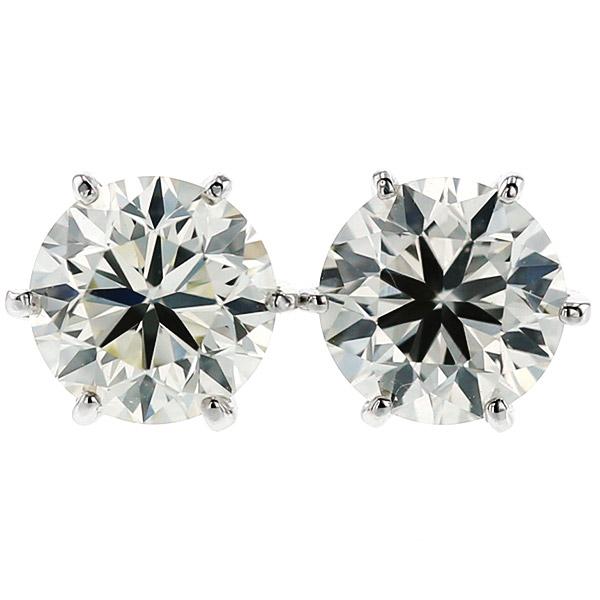 【ご注文後7%OFF】ダイヤモンド ピアス 1.436ct(Total) VS1-M-VERY GOOD Pt プラチナ ソリティア 一粒 1ct 1カラット ダイアモンドピアス ダイアモンド ダイアピアス ダイア ダイヤモンドピアス diamond ダイヤピアス ダイヤ ピアス スタッド