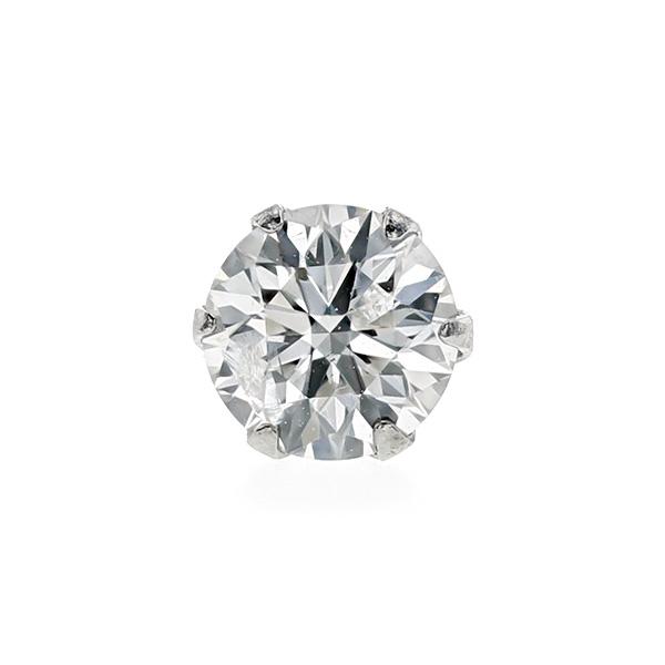 【ご注文後7%OFF】ダイヤモンド ピアス(片耳用) 0.25~0.29ct I1-G~H-EXCELLENT~3EXCELLENT Pt プラチナ ソリティア 一粒 0.2ct 0.2カラット ダイヤ ダイア ダイヤモンドピアス ダイヤピアス ピアス スタッド ファンシーカラー