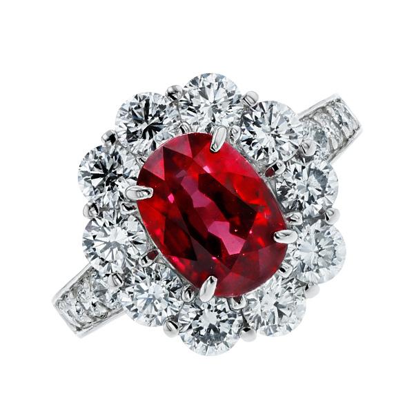 ルビー リング 3.17ct --オーバルミックスカット Pt プラチナ Pt Platinum 指輪 ルビーの指輪 ルビーリング ルビー ダイヤモンド ダイヤ ダイヤモンドリング リング ring diamond