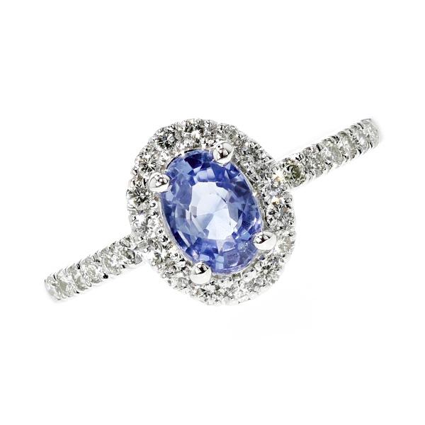 【ご注文後5%OFF】サファイア リング 1.17ct オーバルミックスカット K18WG 18金 ゴールド ホワイトゴールド 指輪 天然 サファイア サファイヤ ダイヤモンド ダイヤ ダイヤモンドリング リング ring diamond