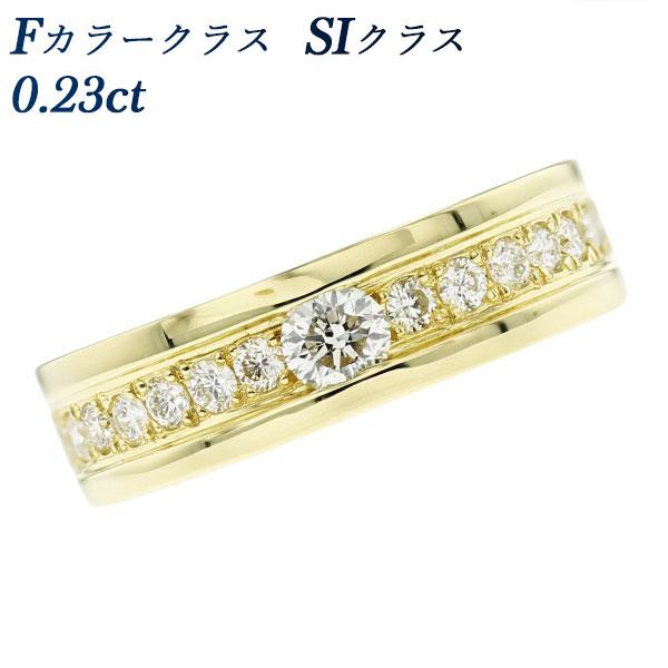 【ご注文後7%OFF】ダイヤモンド ハーフエタニティ リング 0.23ct SIクラス-Fクラス-ラウンドブリリアントカット K18 0.2ct 0.2カラット 0.5ct 0.5カラット エタニティリング ダイヤモンドリング 指輪 ダイヤリング ダイアモンド diamond ダイヤモンド ダイアモンド