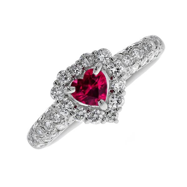 ルビー リング 0.35ct - Pt プラチナ pt900 pt 指輪 ルビーリング ダイヤモンド ダイア ダイアモンド ダイヤ ダイヤモンドリング リング ring diamond