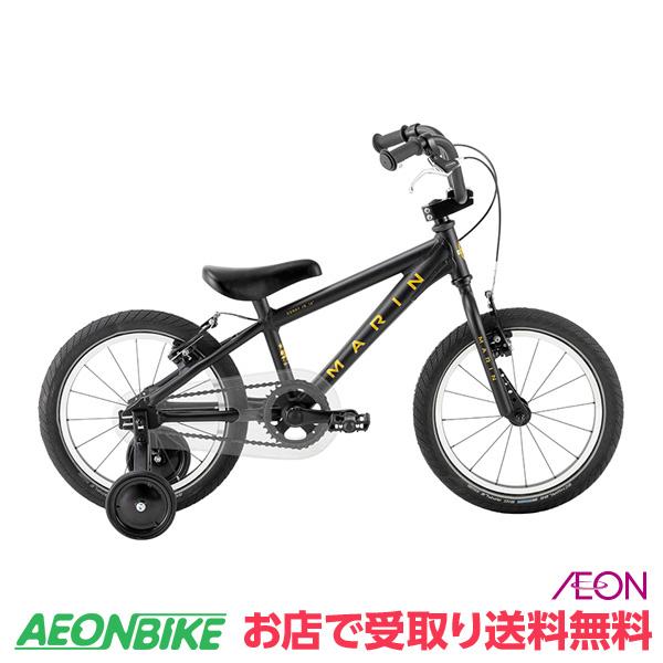【お店受取り送料無料】 マリンバイクス (MARINBIKES) MARIN 19 DONKY JR16 マットブラック 変速なし 16インチ(16×2.125) 0319002401000 子供用自転車