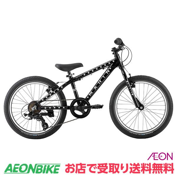 【お店受取り送料無料】 マリンバイクス (MARINBIKES) MARIN 19 DONKY JR20 6S ブラック/グローインダークスター 6段変速 20インチ(20×2.1) 0319002606000 子供用自転車