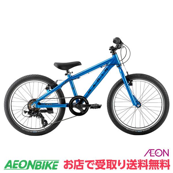 【お店受取り送料無料】 マリンバイクス (MARINBIKES) MARIN 19 DONKY JR20 6S ブルー 6段変速 20インチ(20×2.1) 0319002602000 子供用自転車