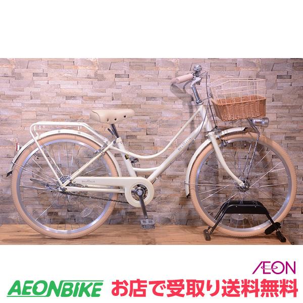 【お店受取り送料無料】デ・アンジェリスクロエ B 2200 パールホワイト 変速なし 22型 子供用自転車