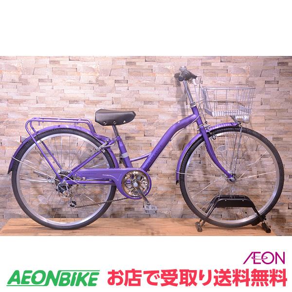 【お店受取り送料無料】スカラーレジュニアA パープル 外装6段変速 22型 子供用自転車