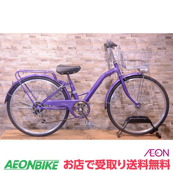 【お店受取り送料無料】スカラーレジュニアA パープル 外装6段変速 24型 子供用自転車