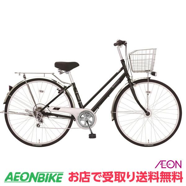 【お店受取り送料無料】マルキン自転車 (marukin) トラフィックシティ 276 ブラック 外装6段変速 27型 MK-18-031