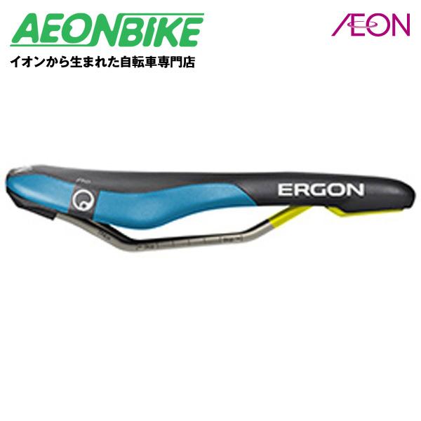 エルゴン (ERGON) SME3 プロ ブラック / ブルー Sサイズ SDL23002【サドル】【自転車】【店舗受取対象外】