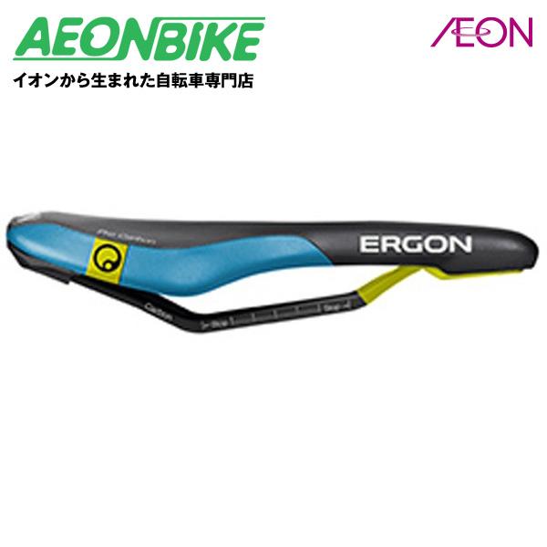エルゴン (ERGON) SME3 プロ カーボン ブラック / ブルー Mサイズ SDL23103【サドル】【自転車】【店舗受取対象外】