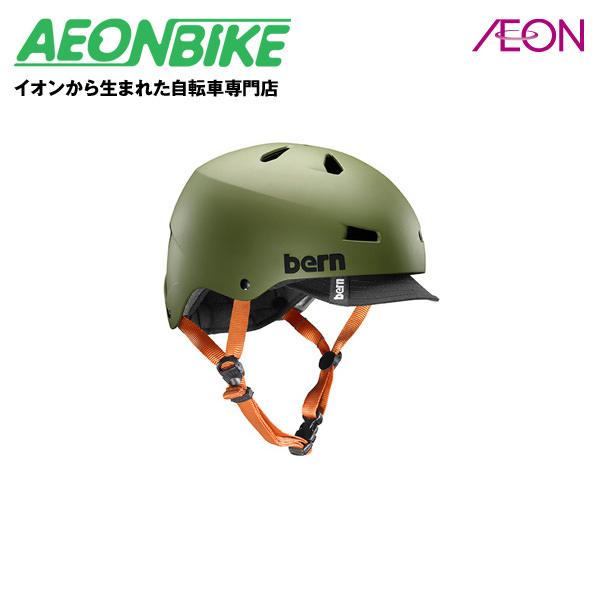5/6 23:59までポイント5倍!bern (バーン) MACON VISOR ヘルメット メーコンバイザー Matte Olive Lサイズ(57-59cm) BE-VM2BHMOGV-04【店舗受取対象外】