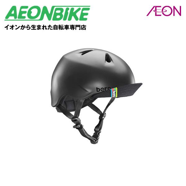 イオンバイクはイオンから生まれた自転車専門店です bern 定価 バーン NINO 子供用 ヘルメット ニーノ 51.5-54.5cm Mサイズ S Matte 2020春夏新作 BE-VJBMBKV-12 店舗受取対象外 Black