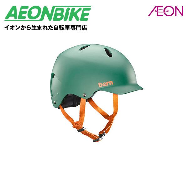 8/9 1:59までエントリーでポイント7倍!bern (バーン) BANDITO 子供用 ヘルメット バンディート Matte Hunter Green M/Lサイズ(53-56cm) BE-BB03EMHUN-13【店舗受取対象外】