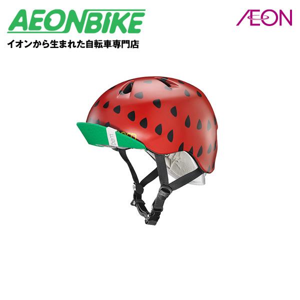 bern (バーン) NINA 子供用 ヘルメット ニーナ Satin Red Strawberry S/Mサイズ(51.5-54.5cm) BE-VJGSRSV-12【店舗受取対象外】