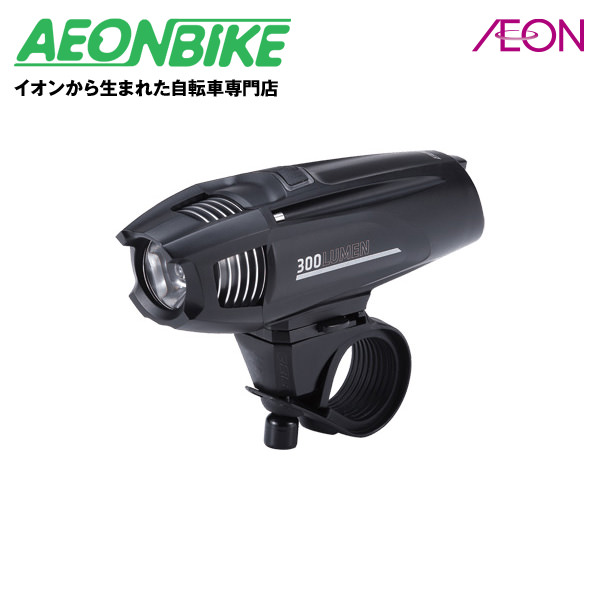 (BBB) ストライク300 ヘッドライト LED リチャージブル リチウムイオン バッテリー BLS-71 028626 ブラック【ライト】【サイクルライト】【自転車】【店舗受取対象外】