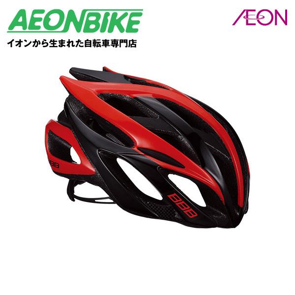 (BBB) ファルコン V2 BHE-01 ブラック/レッド Mサイズ【ヘルメット】【自転車】【店舗受取対象外】