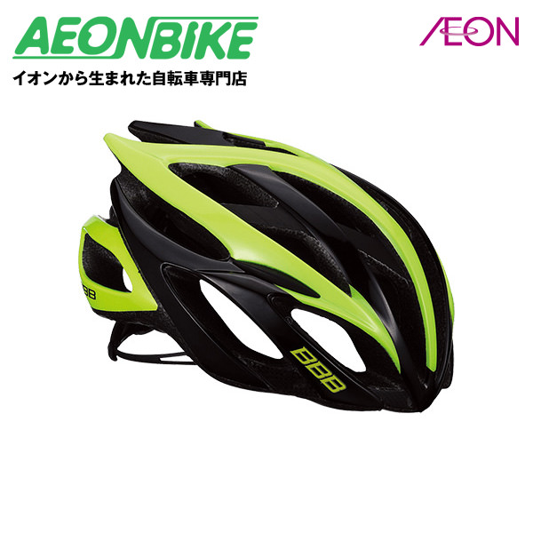(BBB) ファルコン V2 BHE-01 ブラック/ネオンイエロー Lサイズ【ヘルメット】【自転車】【店舗受取対象外】